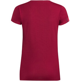 VAUDE Gleann V - T-shirt manches courtes Femme - rose